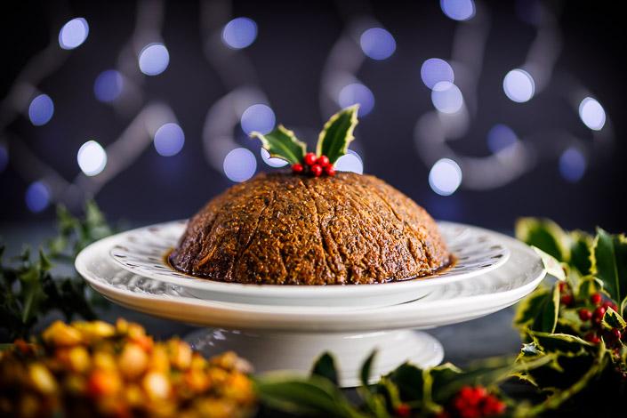 Demuth's savoury Christmas pudding