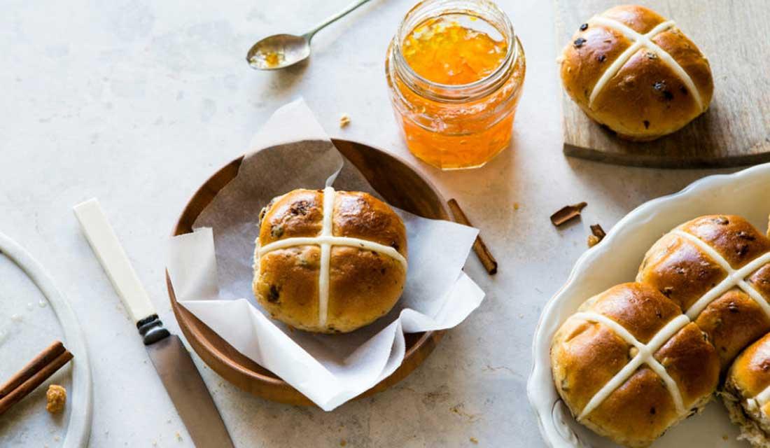 Home comforts: Leiths' hot cross buns